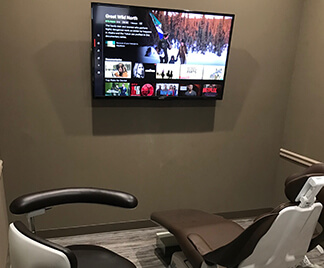 office with netflix